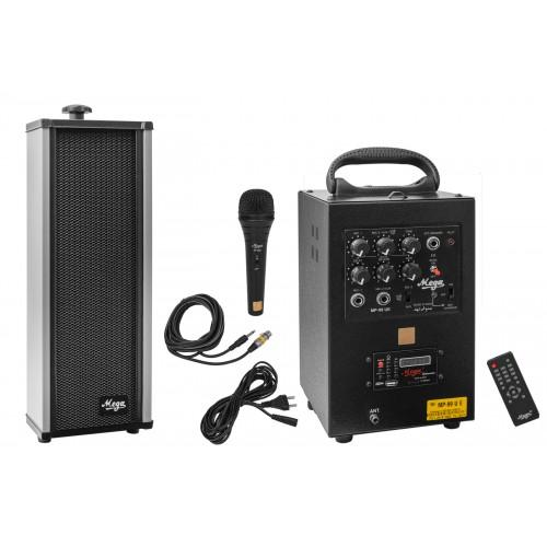mp-99usb+echo with 20 watt 1 external speaker