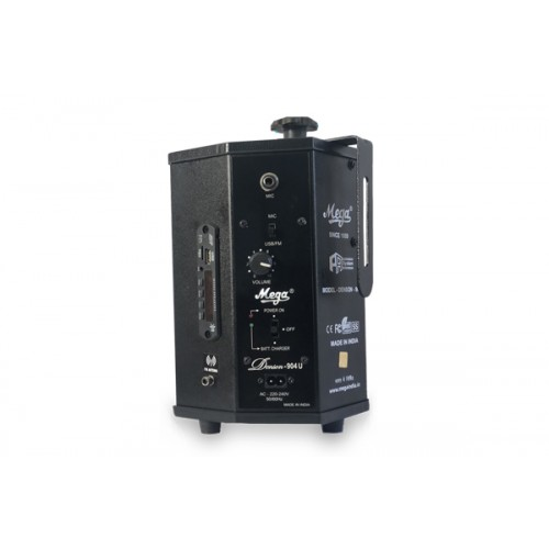 20 WATTS PORTABLE SYSTEM WITH CORDLESS MIKE
