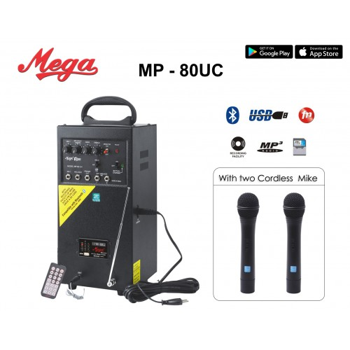 MP 80UC Portable P.A. System