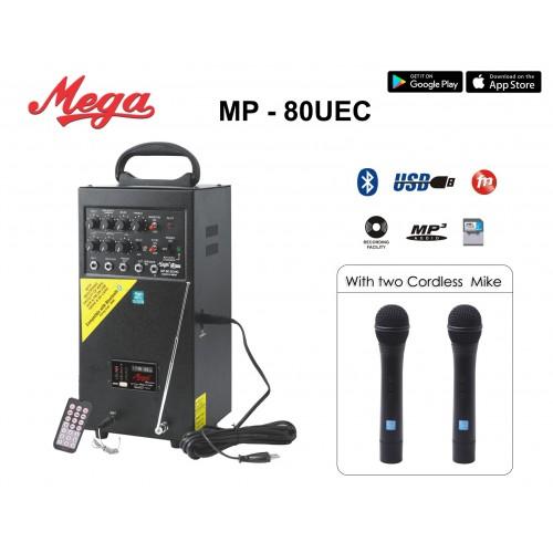 MP 80UEC Portable P.A. System