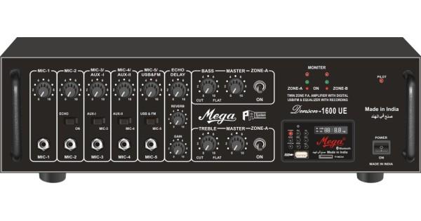 Denson1600ue High Power Mixer Amplifier