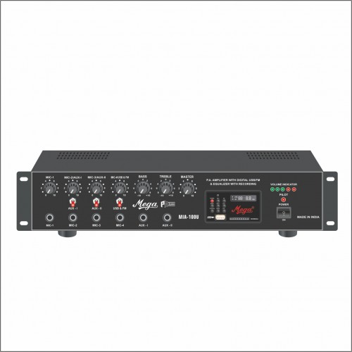 MIA 100U P.A Medium Power Mixer Amplifier